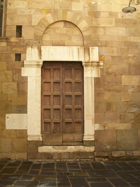 Church doorway San Cristoforo