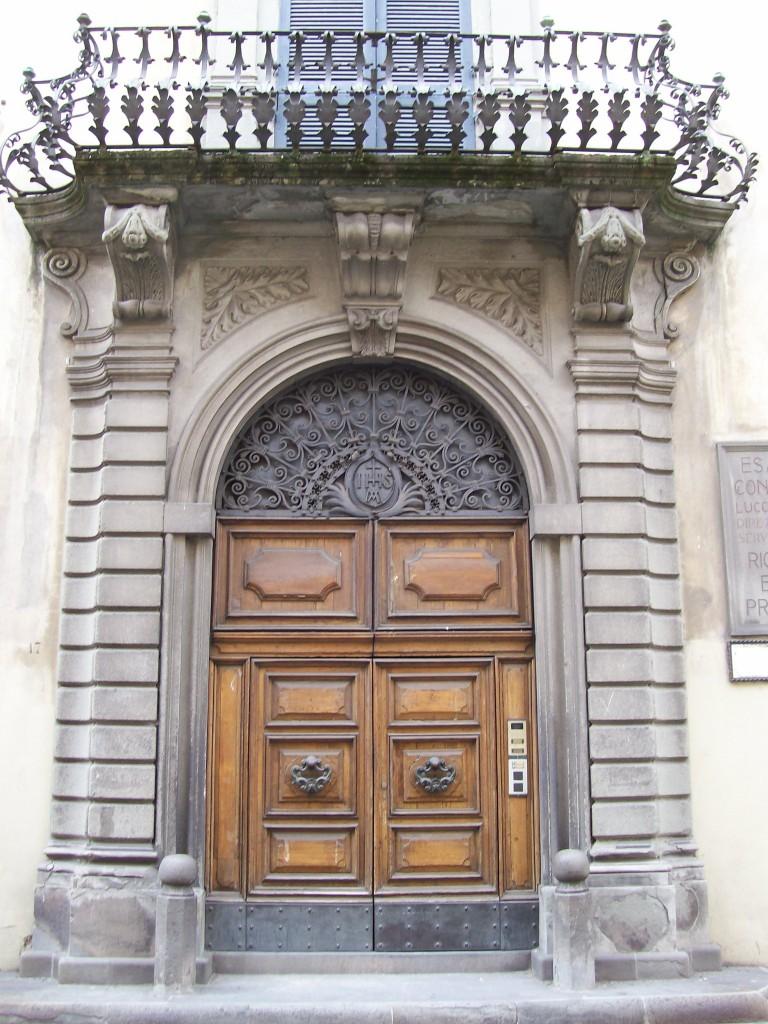 Palazzo entrance