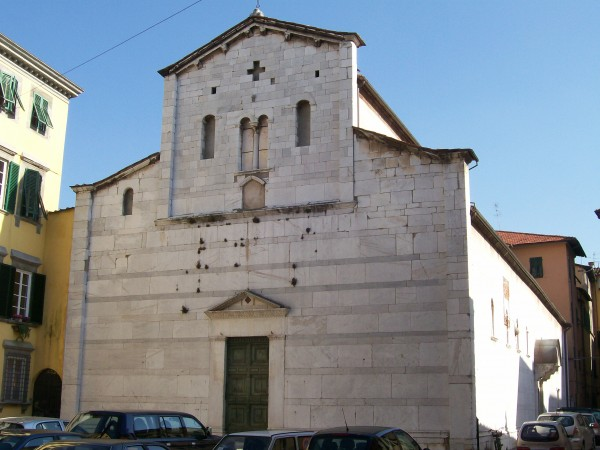 Lucca Italy church of Sant'Alessandro