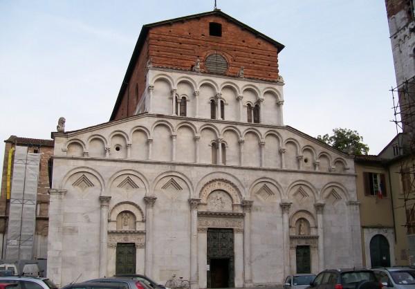Lucca Italy church of Santa Maria Forisportam